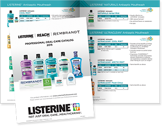LISTERINE® Product Catalog