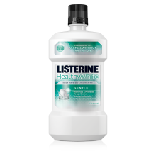 LISTERINE®HEALTHY WHITE™ GENTLE Anticavity Mouthrinse