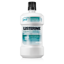 LISTERINE®HEALTHY WHITE™ RESTORING Anticavity Mouthrinse