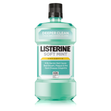 LISTERINE® SOFT MINT® Antiseptic Mouthwash