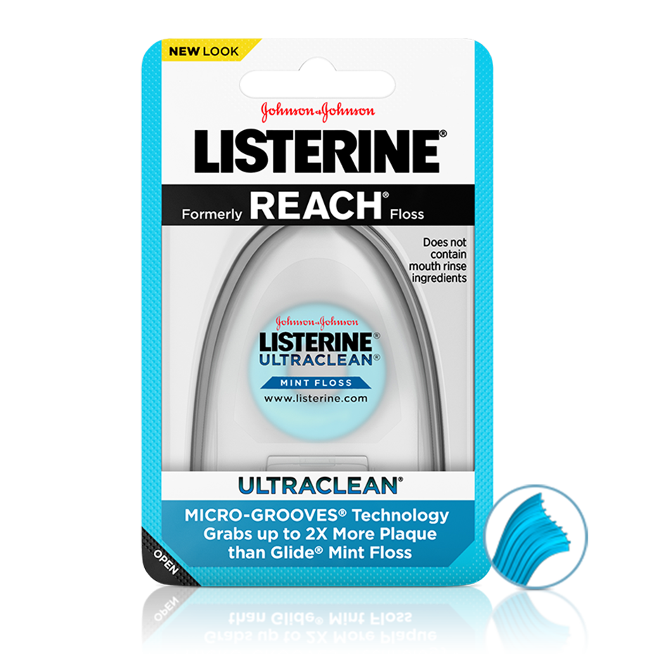 LISTERINE® ULTRACLEAN® Floss